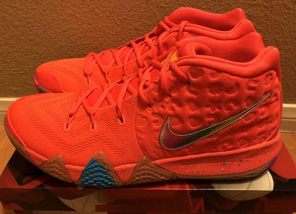 35e5548099d0 Nike Kyrie 4 x Lucky Charms Sz 9