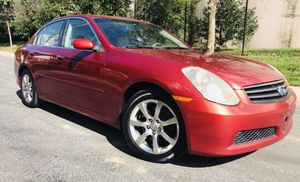 0NLY $4300 •• 2006 Infiniti G35•• Engine and Trans are strong for Sale in Hyattsville, MD