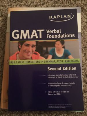 GMAT KAPLAN study guide for Sale in Dallas, TX