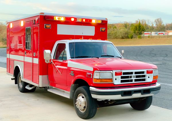1997 Ford F450 Ambulance 7 3l Only 63k Miles For Sale In