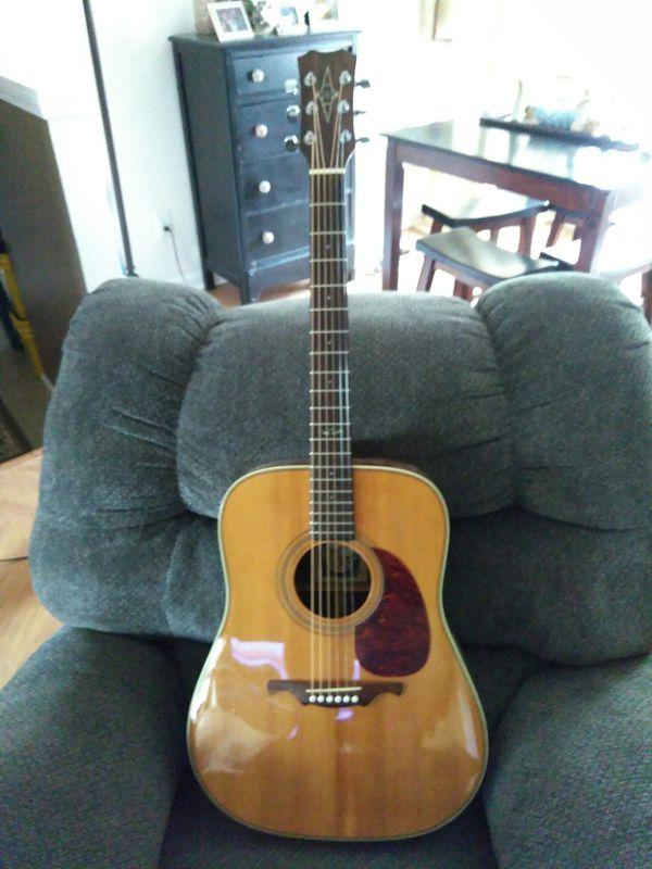 alvarez guitar model number 5022