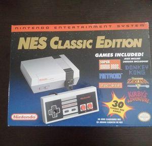 """Nes classic edition """"2018"""" with original receipt for Sale in Manassas, VA"""