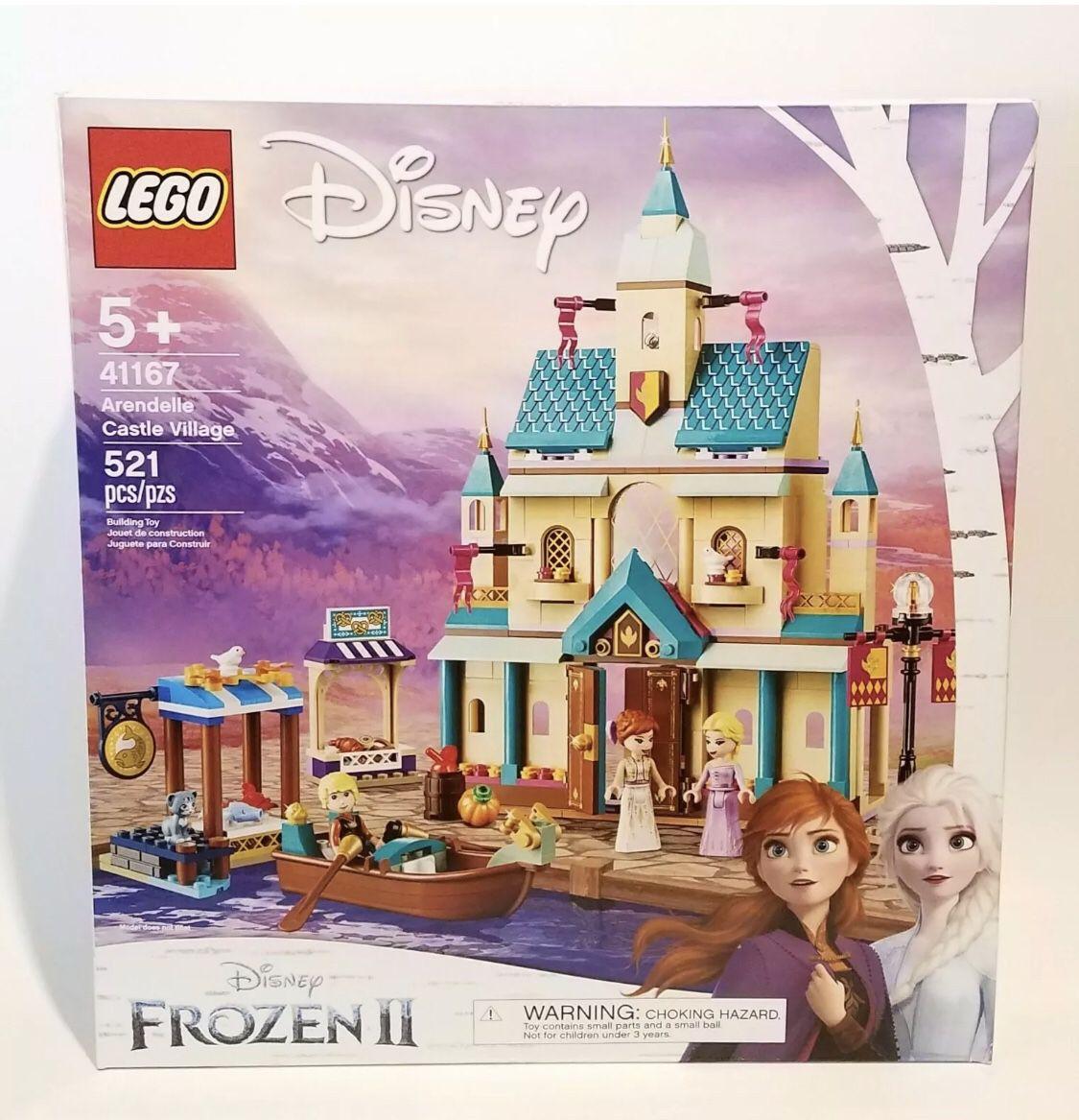Lego Disney Frozen Castle Village 41167