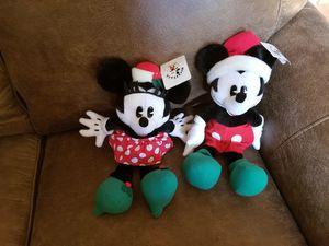 Mickey/Minnie Mouse stuffed animals for Sale in Mountlake Terrace, WA