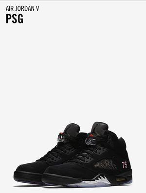Jordan 5 - PSG - Size 10 for Sale in Lorton, VA