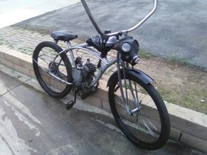 Photo 80cc motorized bicycle runs great 35 miles an hour
