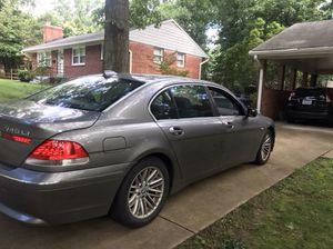 Bmw. 2004. Li 745. for Sale in Arlington, VA