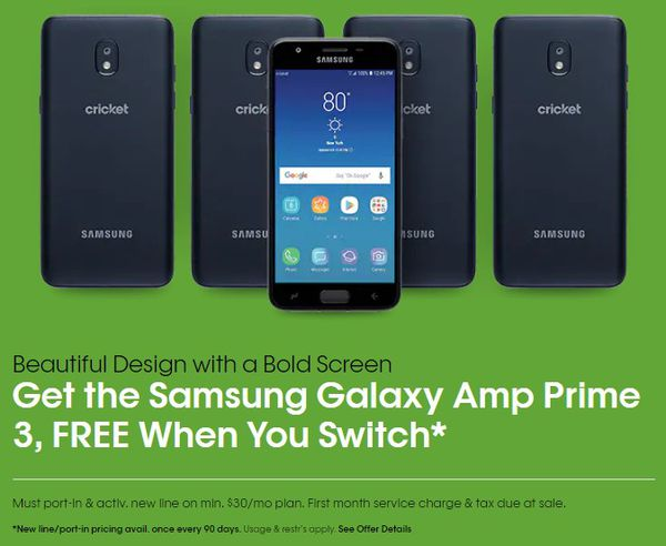 FREE Samsung Galaxy Amp Prime 3 for Sale in Greensboro, NC