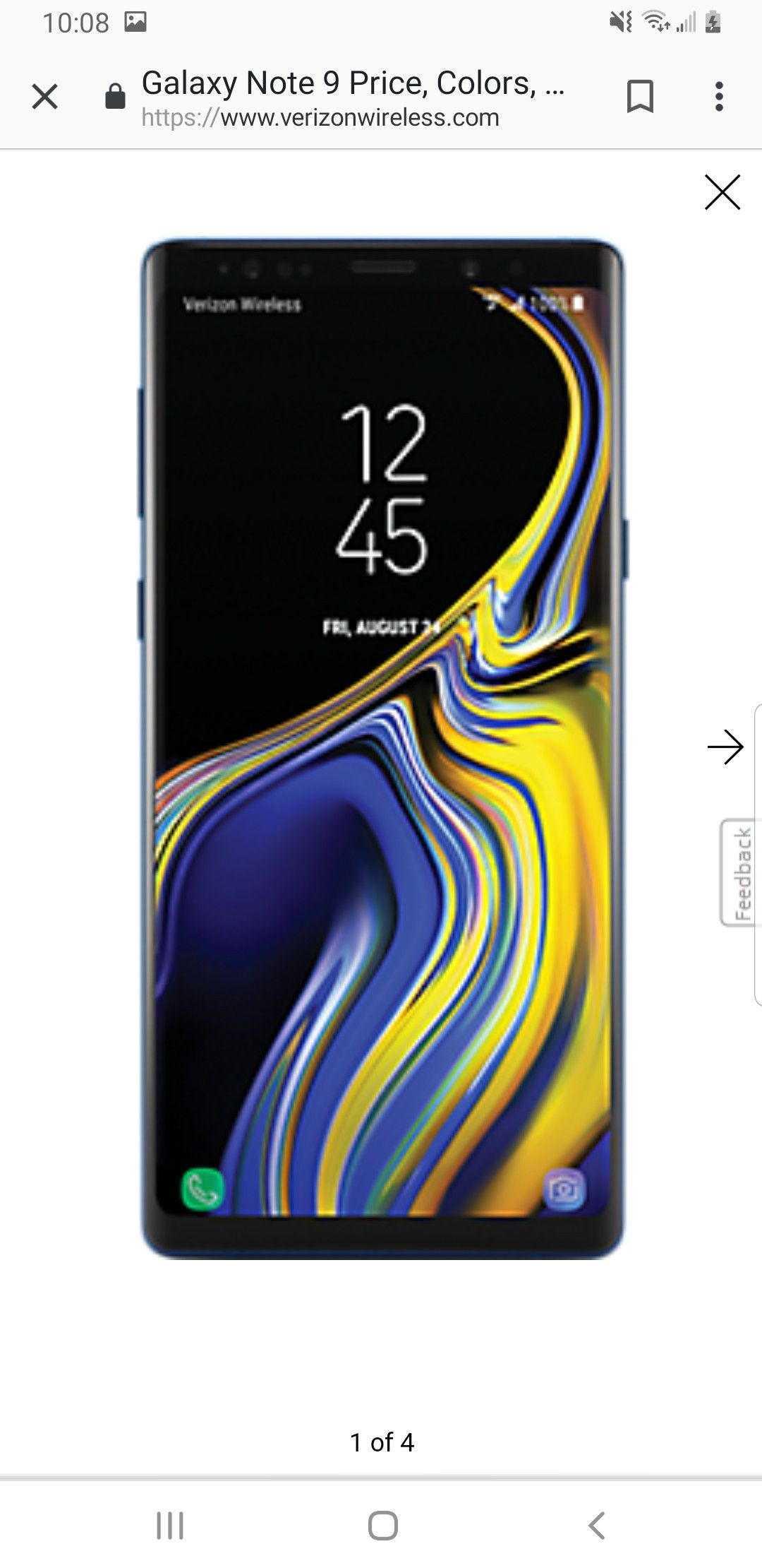 Brand new in the box note 9