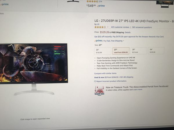 New and Used Lg monitor for Sale in Reading, PA - OfferUp
