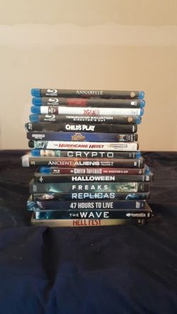 DVD blu ray 4k movies Thumbnail