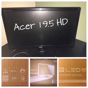 Acer 19.5 HD Computer Monitor for Sale in Phoenix, AZ