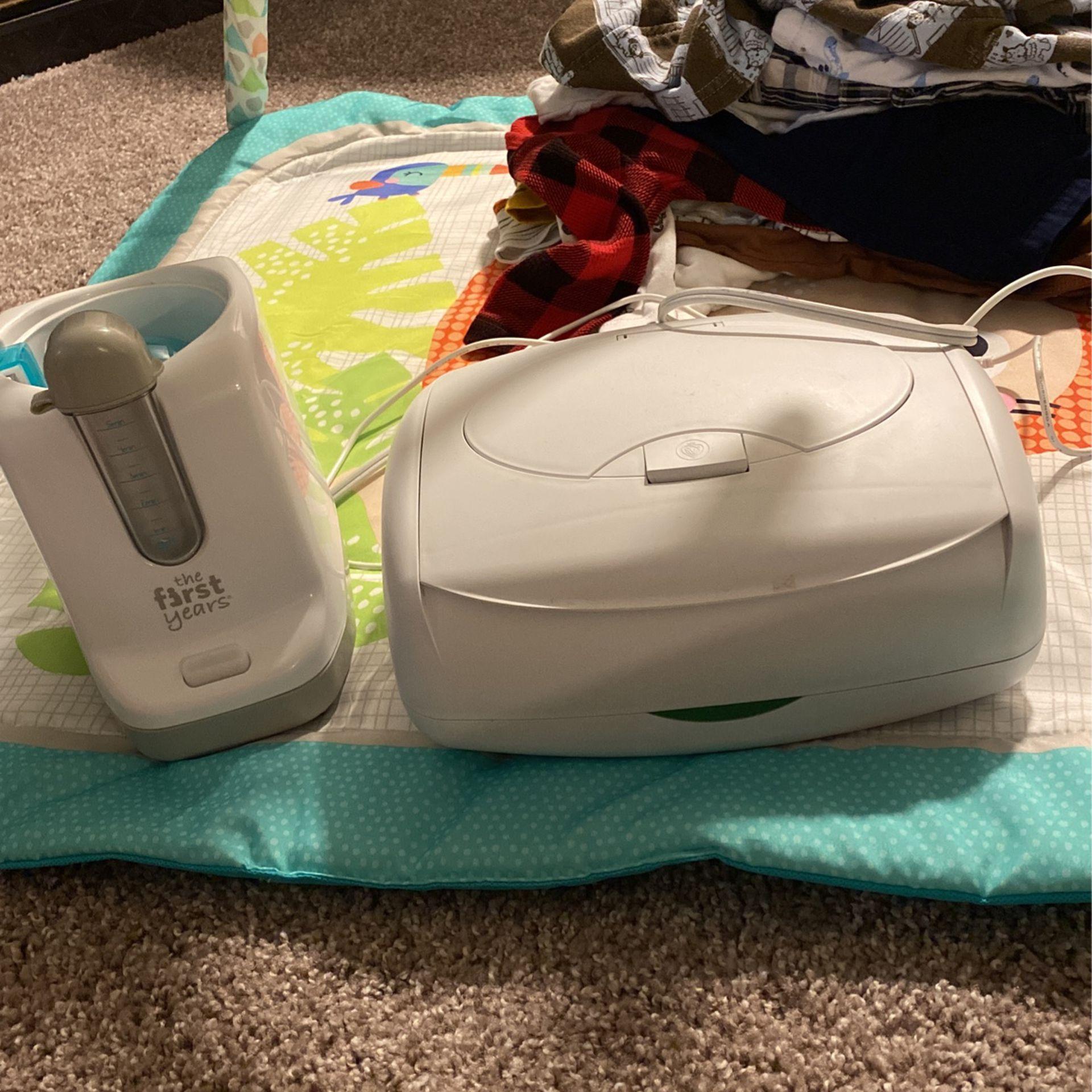 Wipe Warmer And Bottle Warmer/Sanitizer