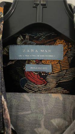 Zara printed shirt Thumbnail
