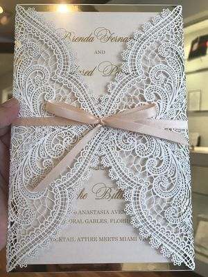 Lasercut invitations for Sale in Miami, FL