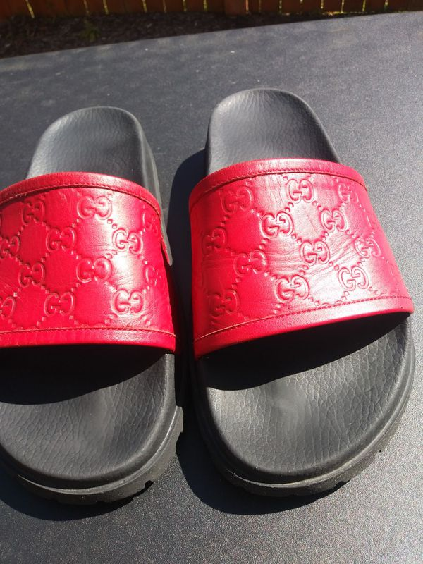 6ff679b9c3c REAL Gucci flip flops size12m for Sale in Marysville