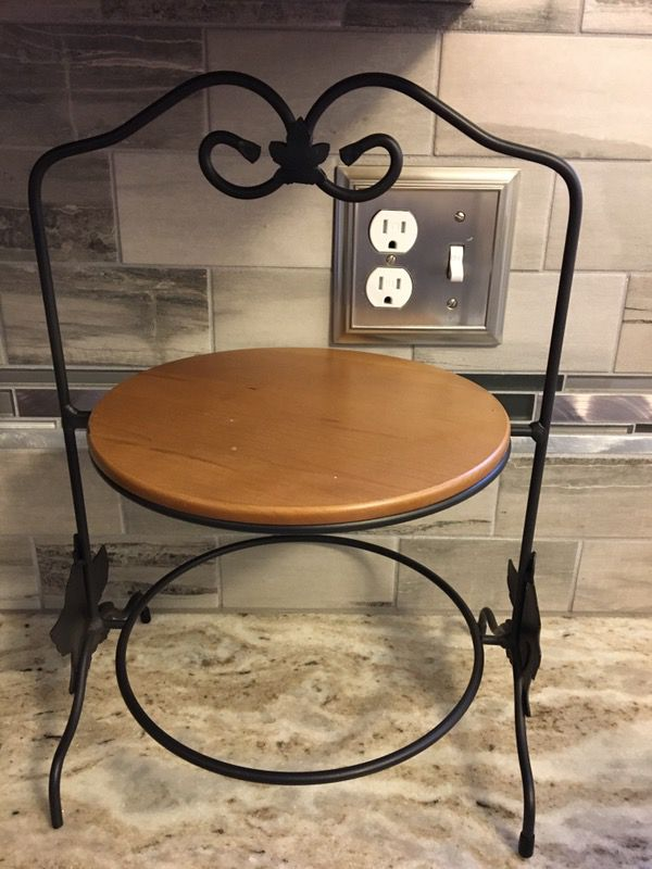 Longaberger Wrought Iron Pie Plate holder (Collectibles) in Toms ...