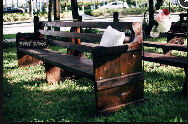 Wood Church Benches Furniture In Loxahatchee Fl Offerup