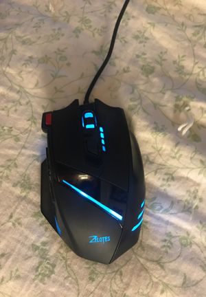 Color Changing Zelotes Mouse. With Dpi settings for Sale in Salt Lake City, UT