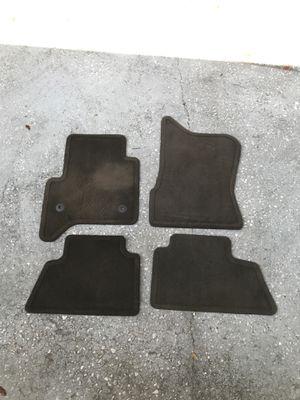 Photo Set of brown floor mats 2015-2020 GMC Yukon, Yukon XL, Denali. Chevy Tahoe, Suburban