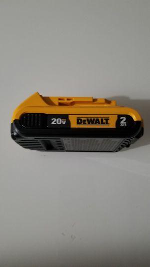 Photo New Dewalt 20-Volt MAX XR Lithium-Ion 2.0Ah Battery