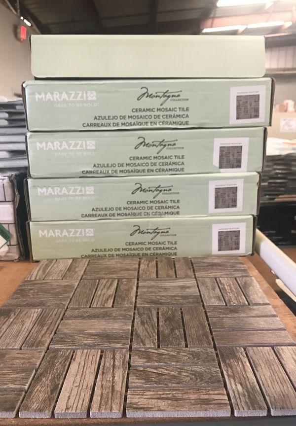 Marazzi Montagna Rustic Bay Ceramic Lattice Mosaic Tile