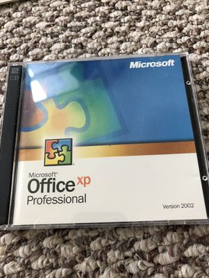 Microsoft Office XP Professional with activation key. for Sale in Washington, DC