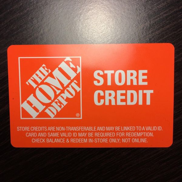Home Depot Store Credit For Sale In West Palm Beach Fl Offerup
