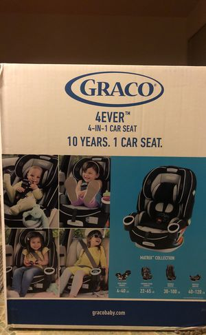Graco 4Ever 4 In 1 Convertible Car Seat Matrix For Sale Albany
