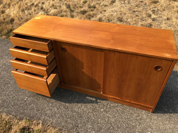 Danish Teak Credenza : Danish teak credenza for sale in tacoma wa offerup
