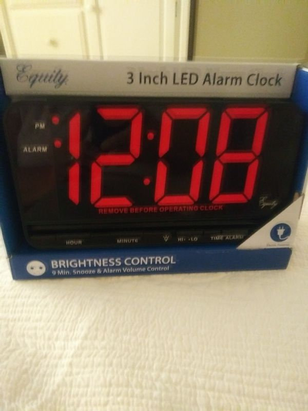 New York Jets Digital Alarm Clock Color Change Thermometer Decor Home & Garden Clocks