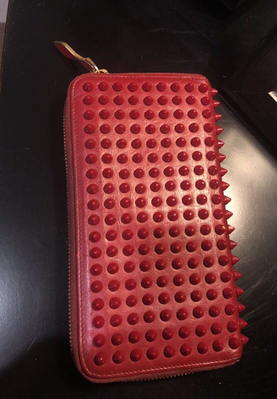 christian loubutin wallet