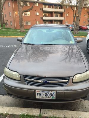 Chevy malibu, 2001 , clean title, new 4 tires , new front brake pads and rotors , everything is working perfectly! for Sale in Alexandria, VA