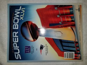 Photo Super Bowl XLVI Game Program Book New York Giants New England PatriotsMemrobilia