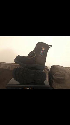 Polo Ralph Lauren Toddler Boys' Ranger High II Bear Boots for Sale in Washington, DC