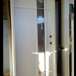 Exterior Door Fiberglass 32x80 Left Thumbnail