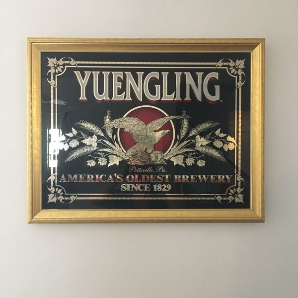Authentic Vintage YUENGLING Mirror Sign for Sale in Montclair, NJ - OfferUp