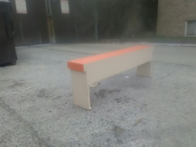 """""""Nice bench for home, store front, etc..."""