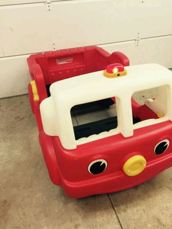 Used Little Tikes Car Bed