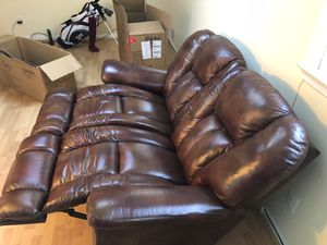 Lazy boy reclining sofa for Sale in Alexandria, VA