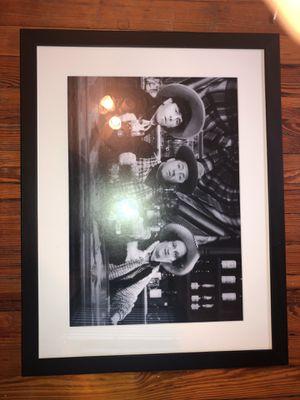 3 stooges vintage photo frame included for Sale in Washington, DC