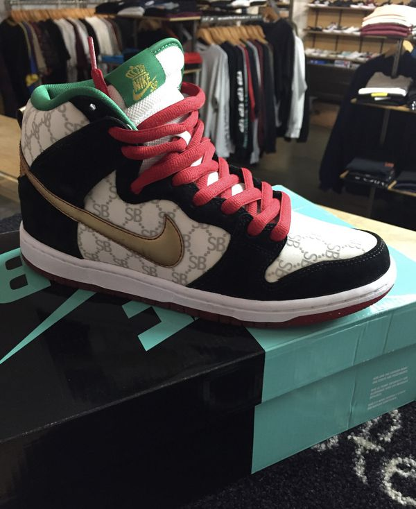 """online store b8d4b 6f854 Nike SB dunk High """"Paid In Full"""" (GUCCI) / deadstock / 7.5 men's for Sale  in Los Angeles, CA - OfferUp"""