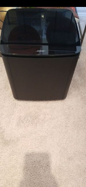Photo LIGHTLY USED BOSE **300** SUBWOOFER(SELL'S FOR MORE) GREAT SOUND!!!IT'S NOT THE 500, THAT SELLS FOR $350!!!LOOK UP DIFFERENCE!!LOOK AT ALL PICTURES!!
