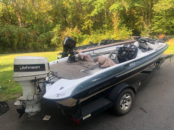2000 stratos 283 indicator bass boat