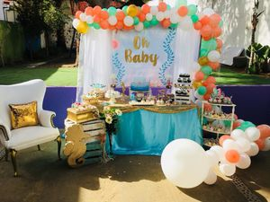 Photo We do all kinds of decoration, baby shower theme under ocean