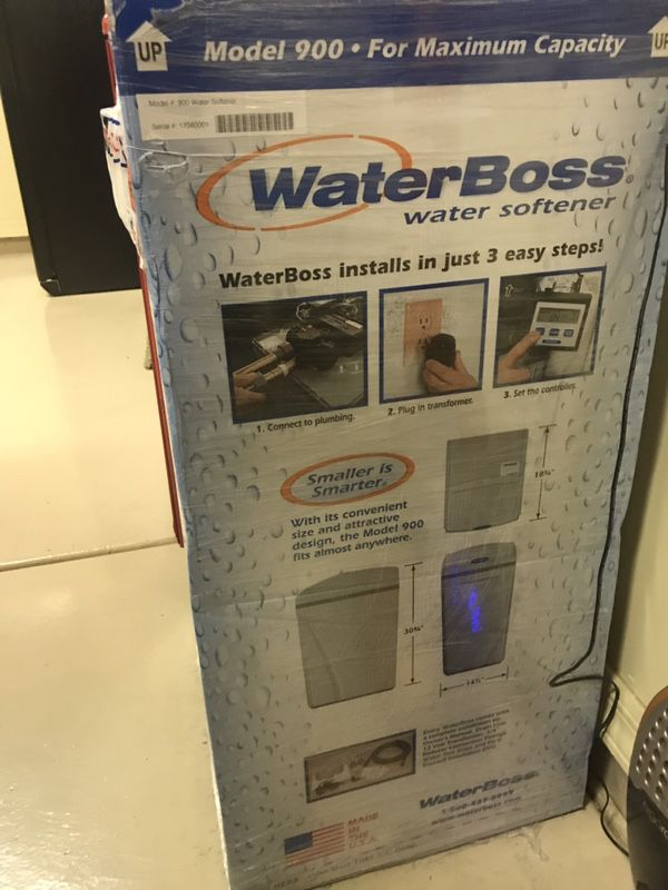 waterboss Hook up