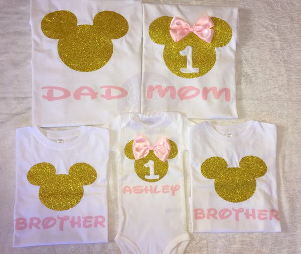 Minnie Mouse Birthday Shirts For Sale In Lynn MA