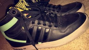 Black green and gray adidas for Sale in Bailey's Crossroads, VA