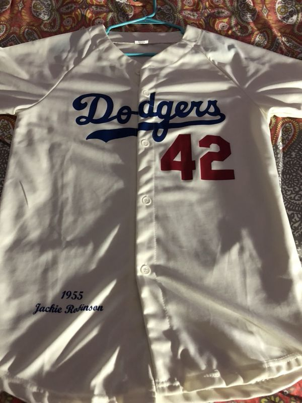 Dodgers Jackie Robinson Jersey Vintage Sz medium for Sale in ... 55825ccf0b8