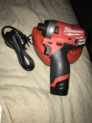 Milwaukee M12 FUEL Gen II Brushless Hex Impact (2553-20) w/ 2.0Ah battery for Sale in Chantilly, VA